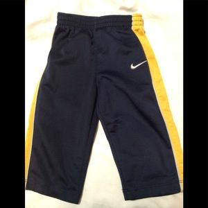 Boy's size 12 months NIKE athletic pants